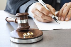 determination on divorce case